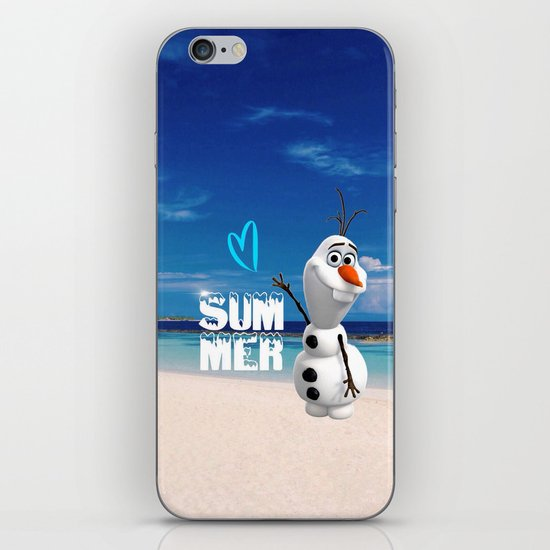 Love summer iPhone & iPod Skin
