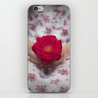 Single Rose iPhone & iPod Skin