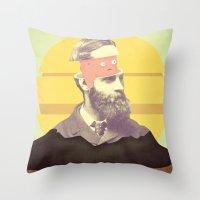 We Are Creating The Futu… Throw Pillow