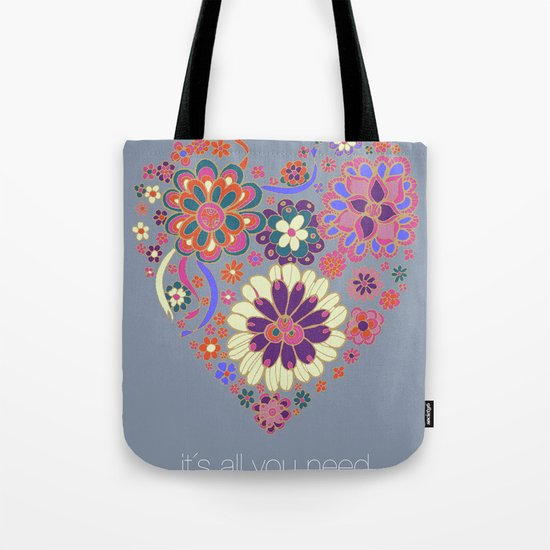LOVE it´s all you need Tote Bag