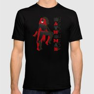 Batwoman Mens Fitted Tee Black SMALL