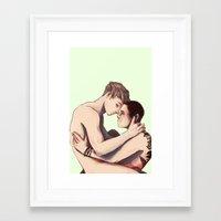 Pynch Framed Art Print