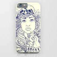 iPhone & iPod Case featuring Broken by PaperTigress