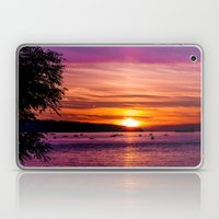 Sunset Over the Beach  Laptop & iPad Skin
