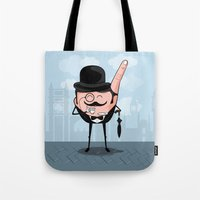 Sir Pinky Tote Bag