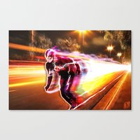 Freeze Frame Canvas Print