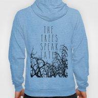 THE TREES SPEAK LATIN QU… Hoody