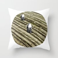 TERRITORIO VISUAL Throw Pillow