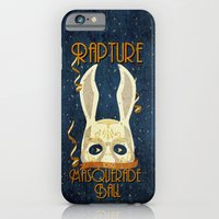 iPhone Cases featuring Rapture Masquerade Ball 1959 by sgrunfo