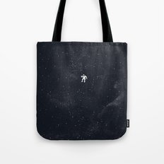 Gravity - Dark Blue Tote Bag