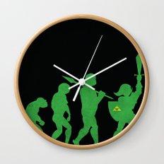 Missing Link Wall Clock