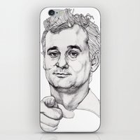 Bill Murray iPhone & iPod Skin