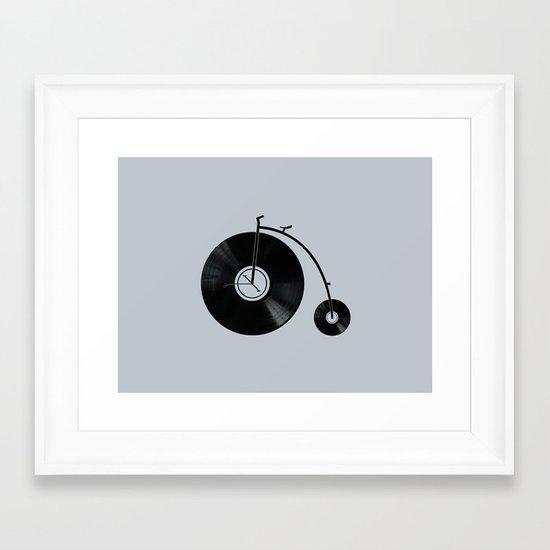 Ride Your Music! Framed Art Print