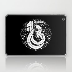 Vendredi 13 monogram Laptop & iPad Skin