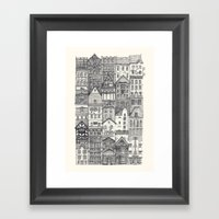 Crowded #4 Framed Art Print