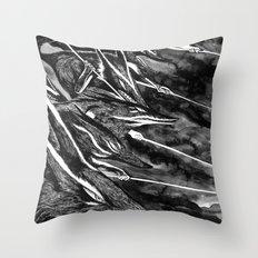 Hunters #1 Throw Pillow