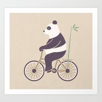 My Bamboo Bicycle Art Print