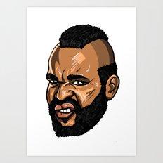 MR T. Art Print