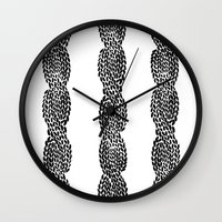 Cable 3 Wall Clock