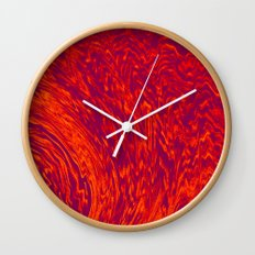 Electric Wave Wall Clock