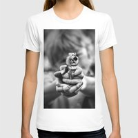 Bang! Womens Fitted Tee White SMALL