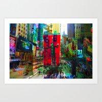 New York 8 Art Print