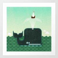Whale, Whale, Whale... Art Print