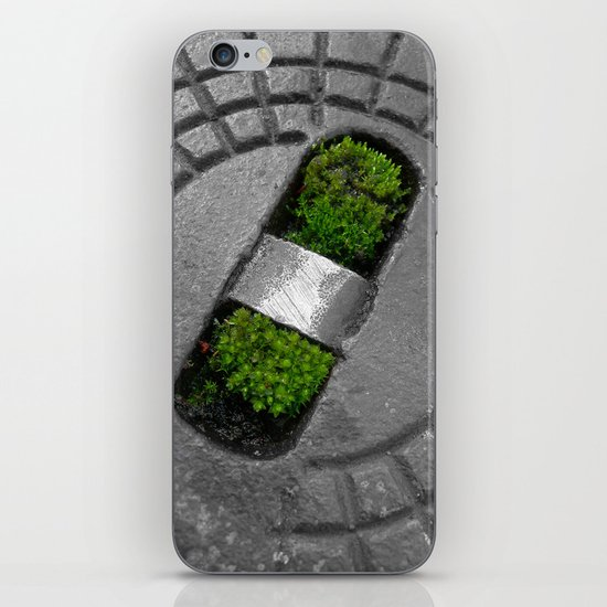 little green iPhone & iPod Skin