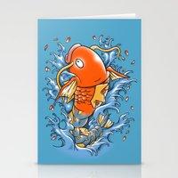 Magic Karp Koi Stationery Cards