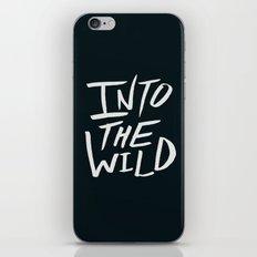 Into the Wild x BW iPhone & iPod Skin