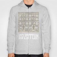 Physical Graffiti. Zeppelin lyrics print. Hoody