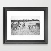 independent::kenya  Framed Art Print