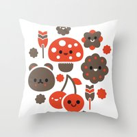 Kawaii Master Throw Pillow