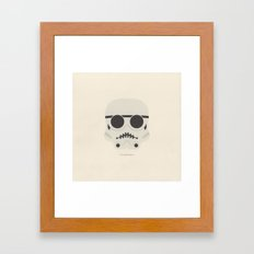 you're a little short for a stormtrooper Framed Art Print