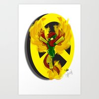 Phoeny   Mutant Little P… Art Print