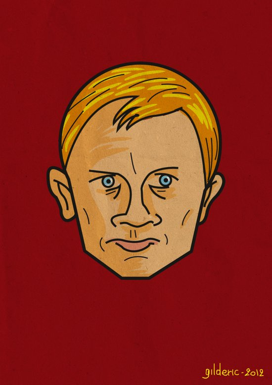Daniel Craig is James Bond Art Print