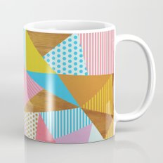 Wooden Colorful Mug