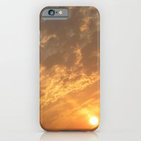 iPhone & iPod Case featuring Sun in a corner by Art Pass