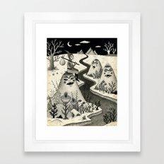Weary Vagabond  Framed Art Print