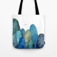 The Moutains Are Comming Tote Bag