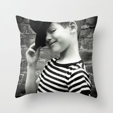 Juvenile Jazz 1 Throw Pillow