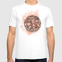 Sunflowers Mens Fitted Tee White SMALL