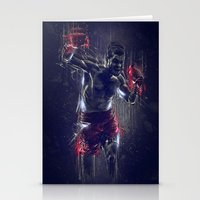 DARK BOXING Stationery Cards