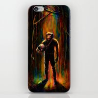 Commander Chimp iPhone & iPod Skin