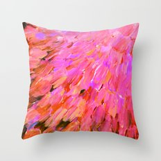 SEA SCALES IN PINK - Hot… Throw Pillow