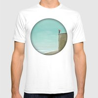 Unobtainable Mens Fitted Tee White SMALL