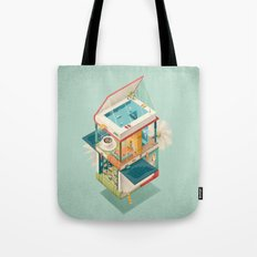 Creative house Tote Bag