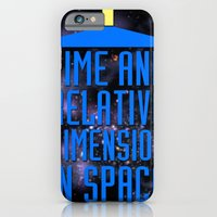 iPhone & iPod Case featuring Doctor Who: The Tardis! Time and Relative Dimension in Space by InvaderDig