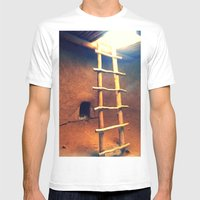 Down in the Kiva Mens Fitted Tee White SMALL