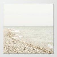 Coastal Shore Point Betsie No. 1 Canvas Print